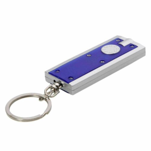 2020 Mini LED Camping Keyring Pocket Torch Keychain Flashlight Portable Lamp AUS