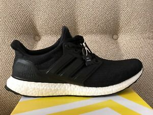 factory authentic 158a4 23538 Image is loading Adidas-Ultra-Boost-3-0-LTD-Black-Leather-