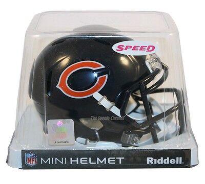 CHICAGO BEARS RIDDELL NFL MINI SPEED FOOTBALL HELMET