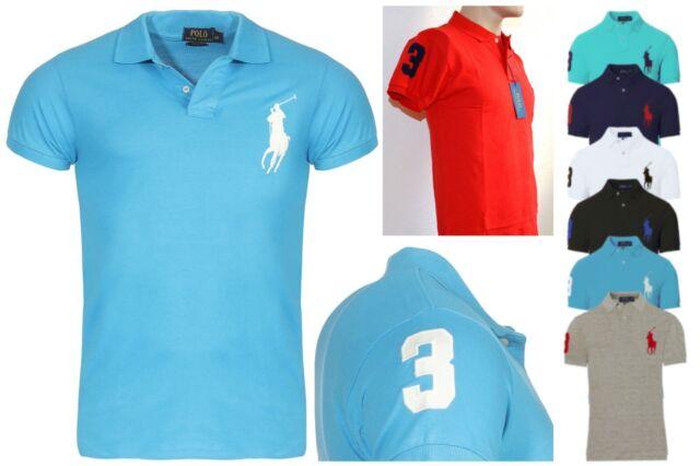S Ralph Men's Xxl Shirt T Sizes Big L Pony Lauren Polo Xl k0O8nPwX