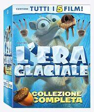 L'ERA GLACIALE - COLLEZIONE COMPLETA (5 BLU-RAY) ANIMAZIONE DIGITALE DREAMWORKS