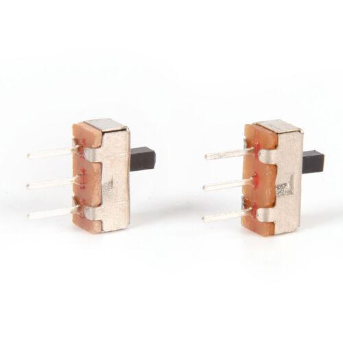 40X3 Pin SS12D00G3 2 Position SPDT 1P2T PCB Panel Mini Vertical Slide Switch.HK