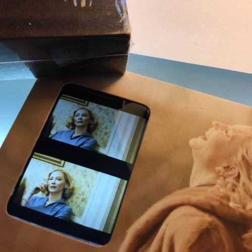 Carol Cate Blanchett Rooney Mara Film Cell Bookmark Memorabilia Collection