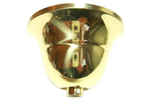 Rosace Plafond flamand 90x61 laiton poli f Tuyau ø10 Lampes Rosace Plafond Tampon cache vis