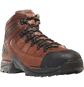 New Danner 453 Steel Toe Work Boots 5 5 Quot Brown Leather