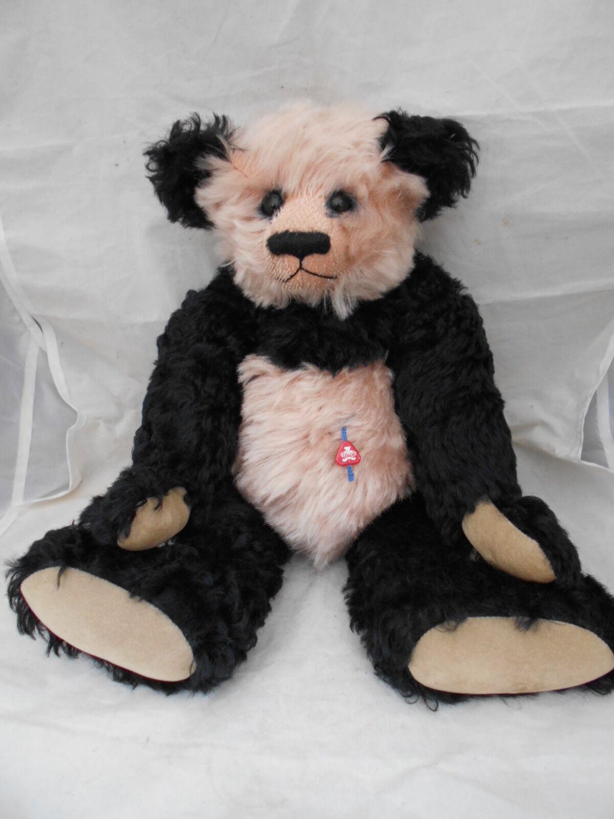 Clemens 15in aritst Bear  NONNA  Ltd 300 da CLAUDIA Wagner-WEINSTEIN Mohair