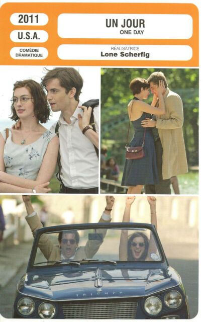 FICHE CINEMA - UN JOUR - ANNE HATHAWAY - JIM STURGESS - PATRICIA CLARKSON