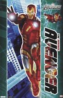 The Avengers Movie Poster Iron Man 22x34 Marvel Armored Robert Downey Jr