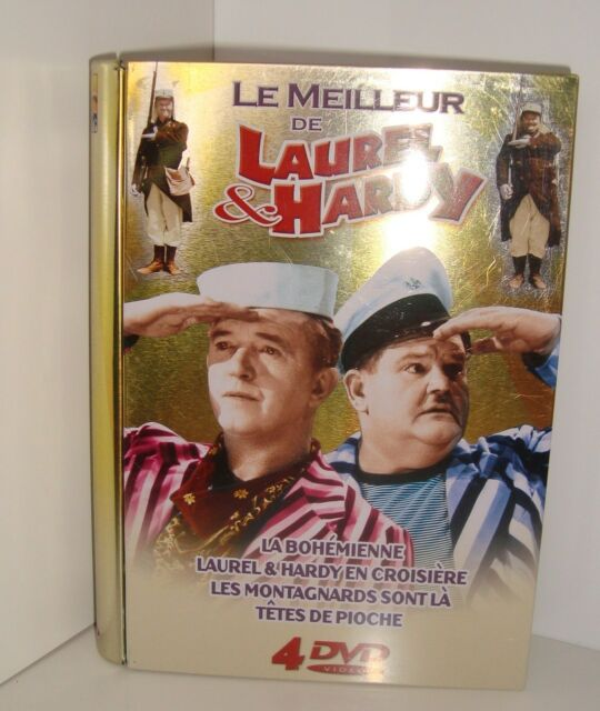 RARE COLLECTOR DVD LE MEILLEUR DE LAUREL & HARDY 4 DVD