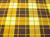 Tartan Tablecloth - Dress Mcleod- Approx 150 Cm X 2.3cm
