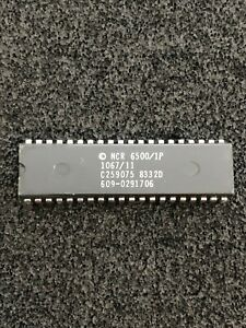 6500/1 -a 6502 variant CPU COMMODORE USE IN AMIGA KB & 1520 PLOTTER NMOS NCR NOS