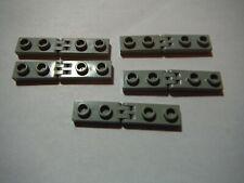4 Pairs LEGO Black Hinge Plate 1x2 w 2 Finger Hinge Bar 2.5L 6998 #4276 2880