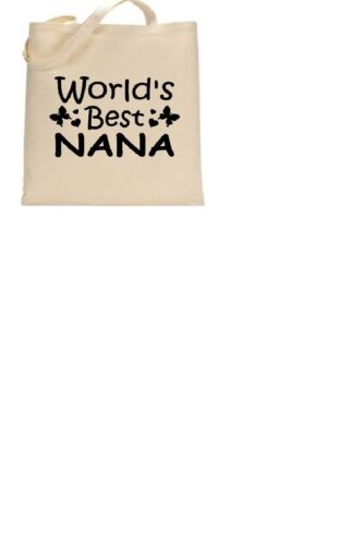 Worlds best Mum//change name Foldable Shopping Bag Personalised Tote Bag