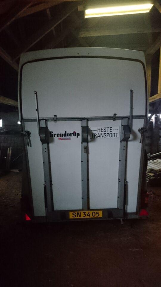 Hestetrailer, Brenderup 33 J, lastevne (kg): 675