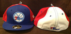 ASSORTED STYLES YOU PICK ONE PHILADELPHIA 76ERS NBA FITTED HAT,