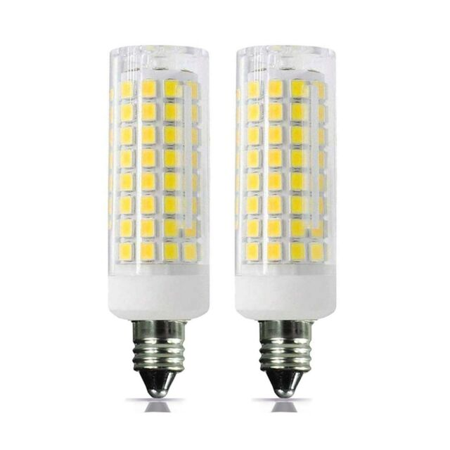 E11 Led Bulb 80w Or 110w Equivalent Halogen Replacement Lights Dimmable Mini