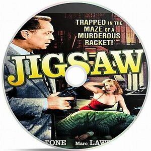 Jigsaw Starring Franchot Tone Black And White Public Domain film Converted A DVD - Doncaster, South Yorkshire, United Kingdom - Jigsaw Starring Franchot Tone Black And White Public Domain film Converted A DVD - Doncaster, South Yorkshire, United Kingdom