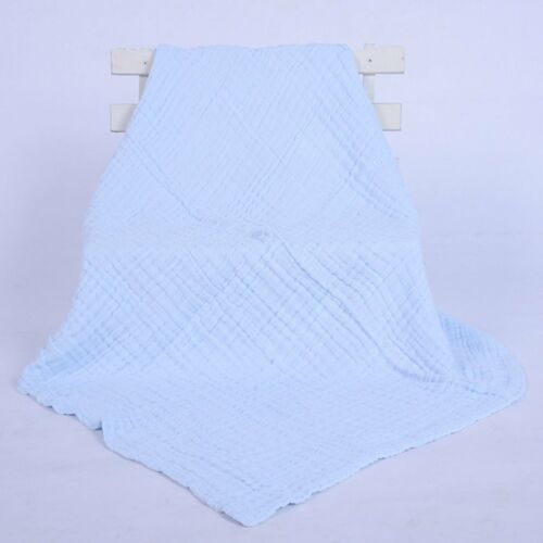 Newborn Baby Muslin Bedding Blanket Bath Towel Soft Blanket Wrap  Swaddle Blanke