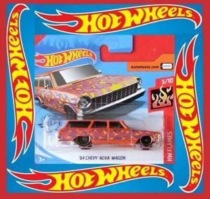 Hot-Wheels-2020-039-64-Chevy-Nova-Wagon-141-250-neu-amp-ovp