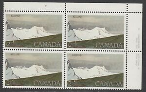 CANADA STAMP #727 PBs --- MATCHED SET - PL#1 -- MINT