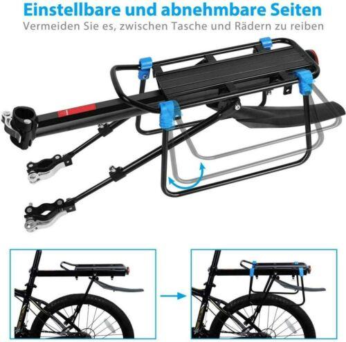 Fahrrad Gepäckträger Aluminium Hinterradträger mit Schutzblech für MTB Rennräder