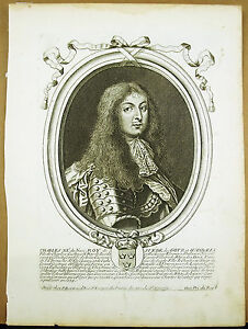 Charles-Xi-King-of-Sweden-Gotz-Wandales-S-of-Larmessin-Engraving-Xvii