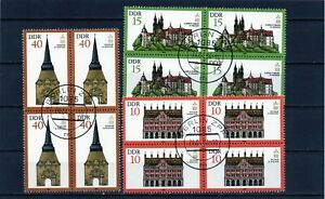 Alemania / Germany / DDR  bloque de 4 año 1984   usada