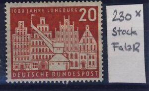 BUND-Nr-230-Falzrest-Stockfleck-Lueneburg-1956-1000-Jahre