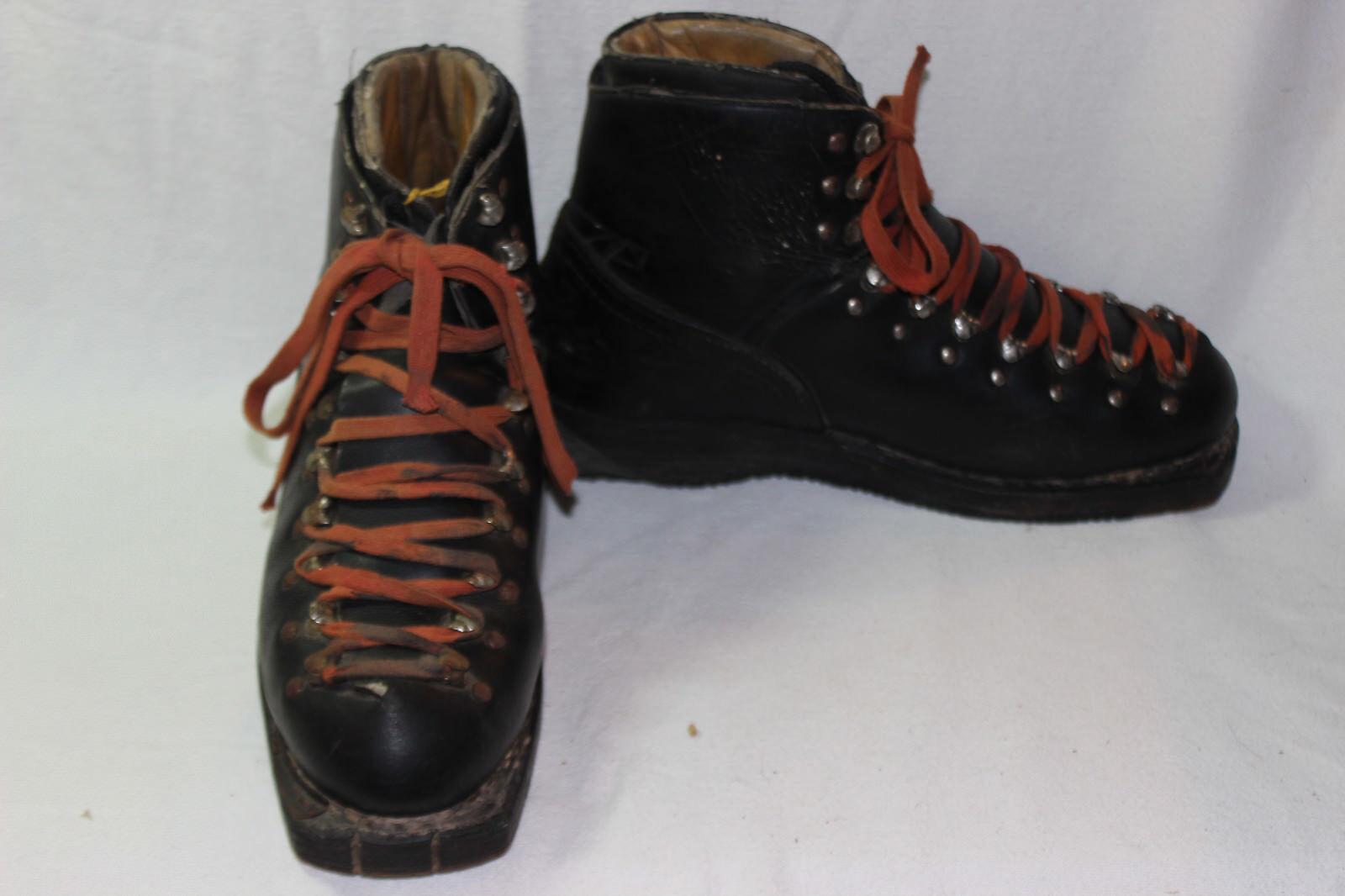 PAIR OF VINTAGE SKI Stiefel Stiefel Stiefel GARMISCH 0e4918