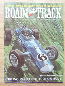 Details about Road & Track 1966 Pontiac Sprint Eagle T2G Rover 2000 TC Roy  Pike Stirling Moss