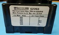 Power Distribution Block 3p 14in Stud 600v Mersen Ferraz Shawmut 62203 One