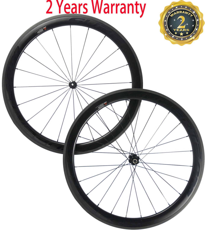 25mm Width Carbon Wheelset 50mm DT350 Hub Wheels 700C Sapim Spoke Carbon Road