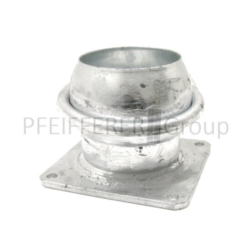 "Flansch Nennweite 150 mm A = 6/"" 150x150mm Italienisches System V-Teil m"