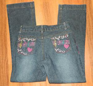 Girls High School Musical Brand Denim Jeans size 12 / 2