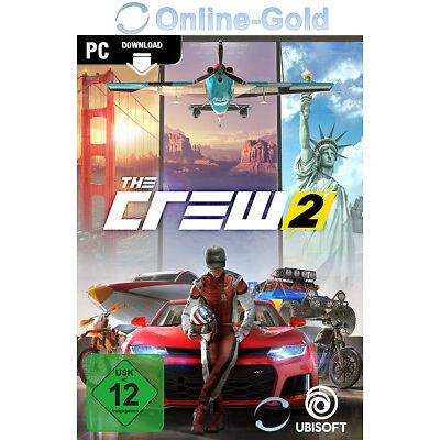 The Crew 2 - PC Uplay Spiel Digital Download Code - [EU Region] [Vorbestellen]