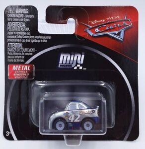 Disney Pixar Cars Mini Racers Silver Cal Weathers *