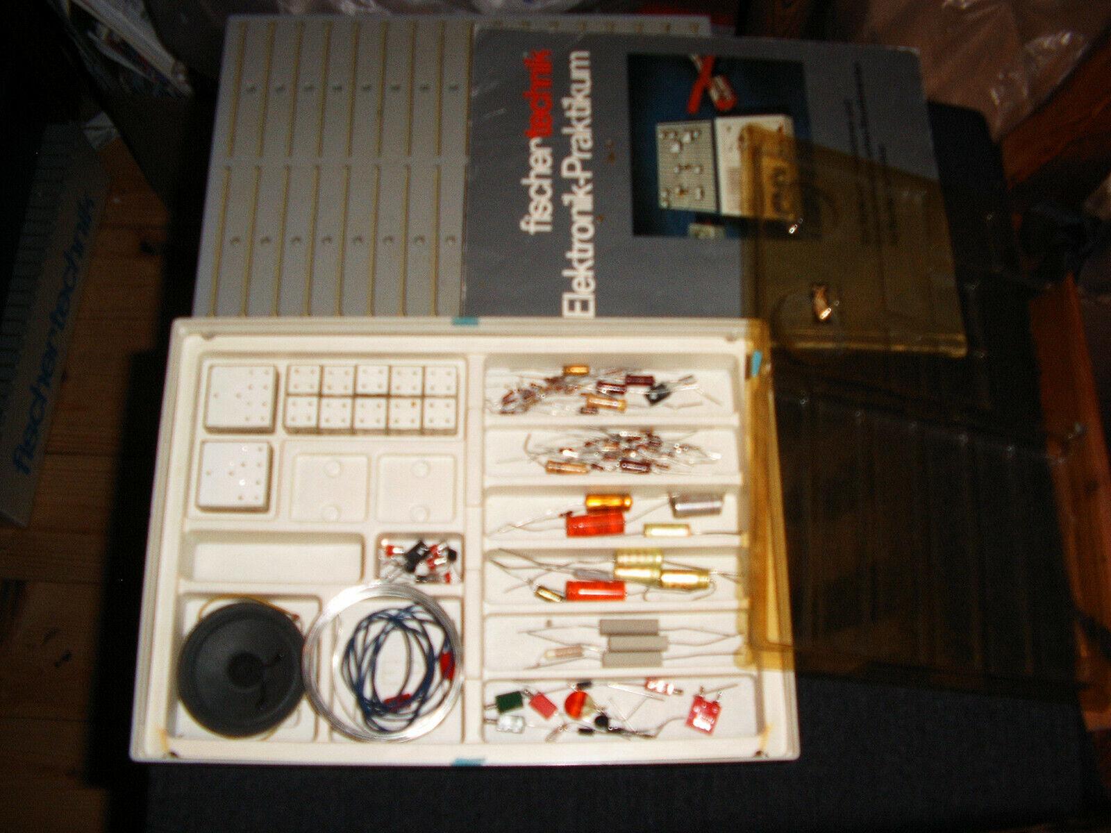 Fischertechnik Baukasten Elektronik Praktikum Elektronik, mit Anleitung B, 500