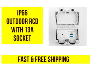 Outdoor-IP66-RCD-Switch-with-1-x-13A-Socket-NEW-NEW-NEW