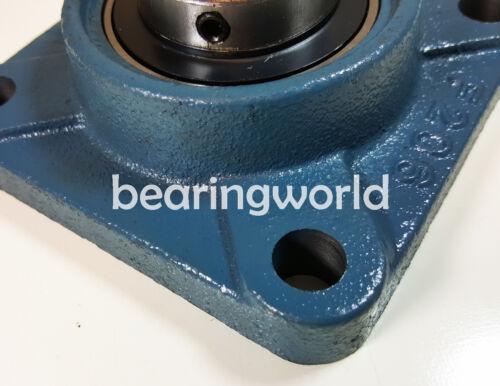 "UCF212-38  NEW High Quality  2-3//8/"" Set Screw Insert Bearing 4-Bolt Flange"