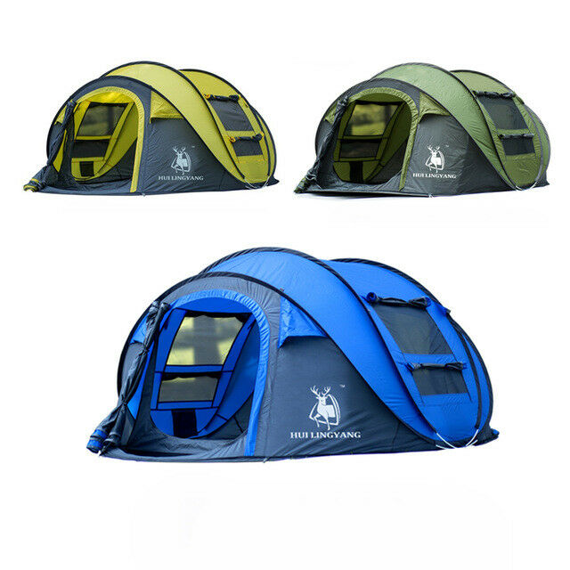 4 person dome pop up tent