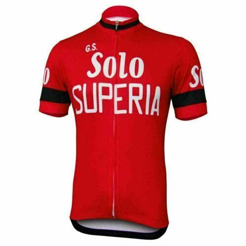Solo Superia Retro cycling Short Sleeve Jersey Cycling Jersey