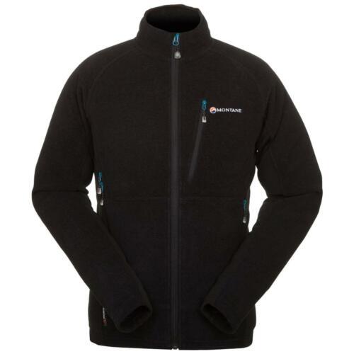 Black Montane Volt Mens Fleece Jacket
