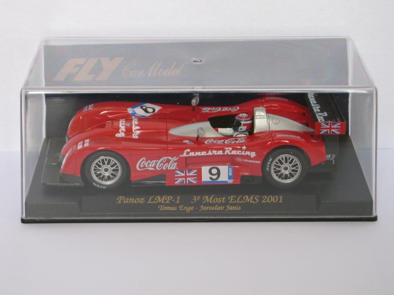 FLY Car Panoz LMP-1 3° Most ELMS 2001 Roadster Coca-Cola - Ref. A221