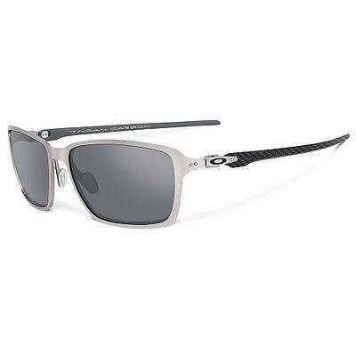 Oakley Men's Tincan Carbon Chrome Grey Sunglasses OO6017-01
