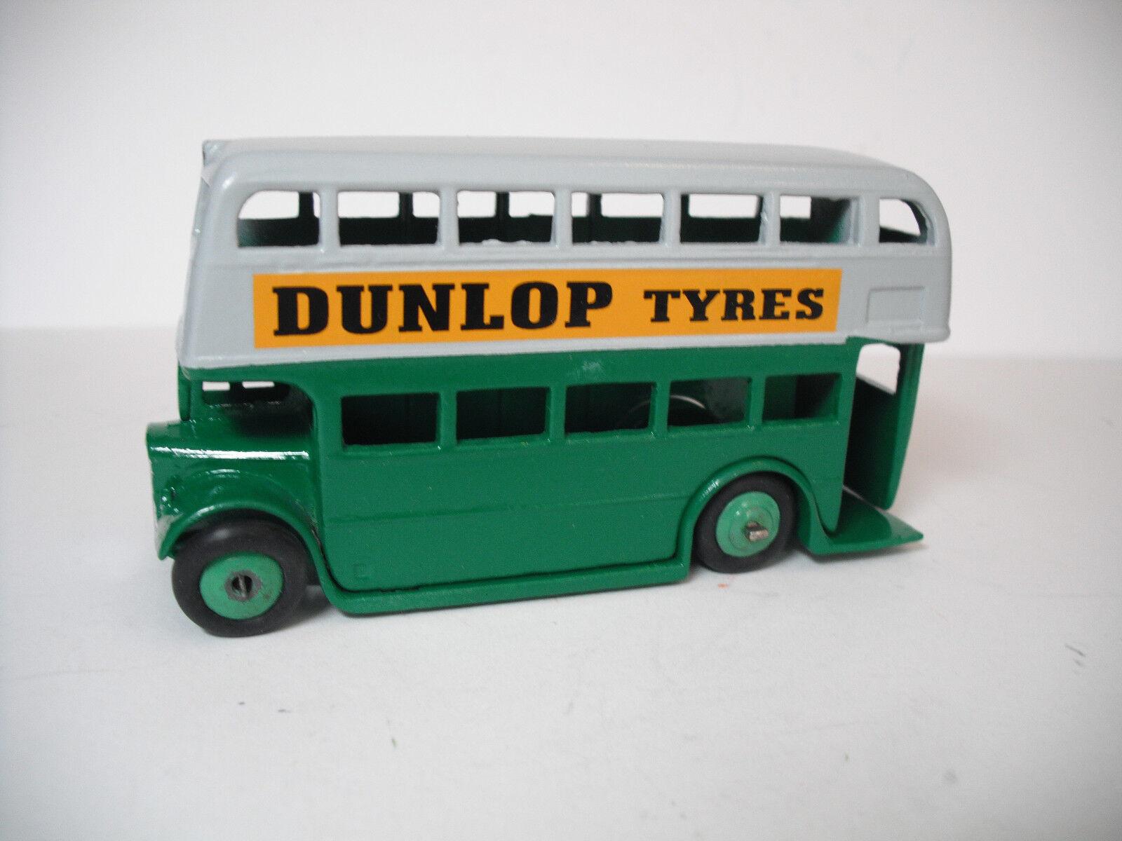 MECCANO LTD DINKYgiocattoli  29C Doppio DECK autobus. POSTWAR RESTAURATO Quasi Nuovo
