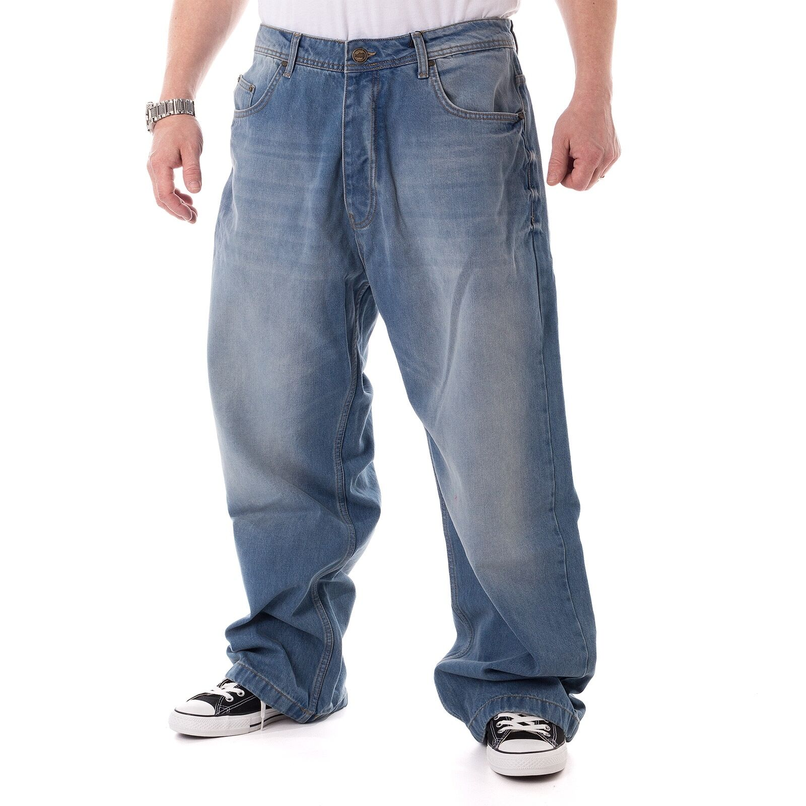 ECKO unltd. FAT BRO BAGGY blu luminoso Jeans Uomo, blu blu blu luminoso, 15509 47690f