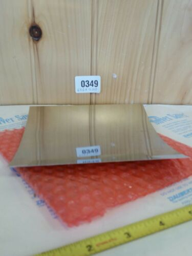 """010 6/"""" Width 6/"""" long 0.010 flat sheet Stainless Steel Shim Stock .010 Thick"""