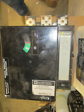 Square D Phf3616001674 1600 Amp Withpam02 Electric Operator Withtest Report