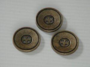 28-schoene-Metallknoepfe-Knoepfe-antikmessing-15mm