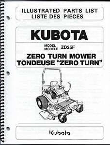 kubota zd25 wiring diagram diagram get image about wiring kubota zd25 zero turn mower illustrated parts manual